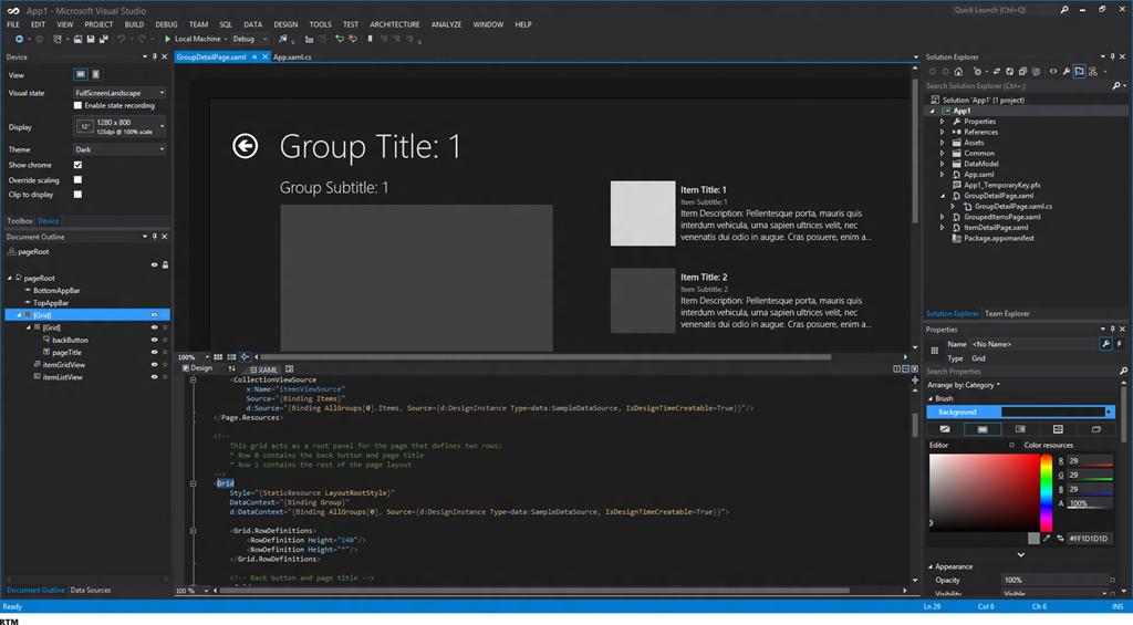 Visual Studio 11 Gets A Dark Theme The Flying Maverick