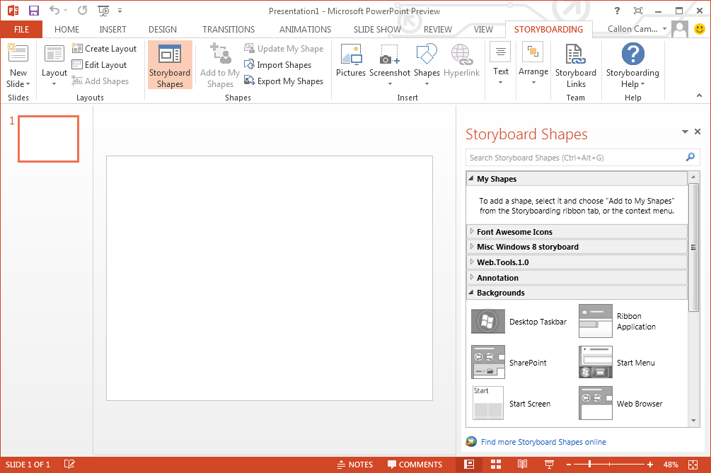 An Introduction to PowerPoint Storyboarding (Visual Studio 2012 ...