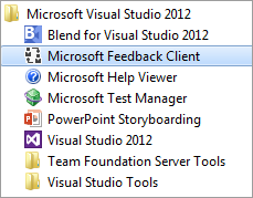 An Introduction to Microsoft Feedback Client (Visual Studio