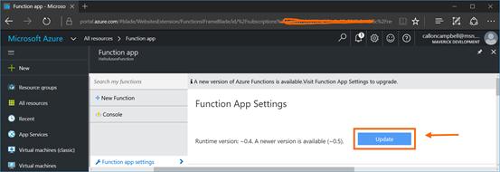 Function App Settings 2