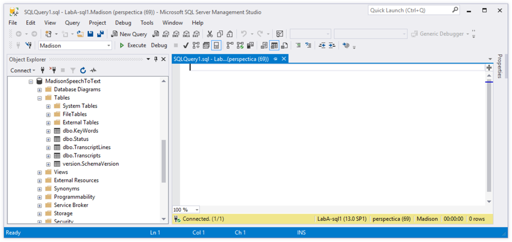 SQL Server Management Studio – The Flying Maverick