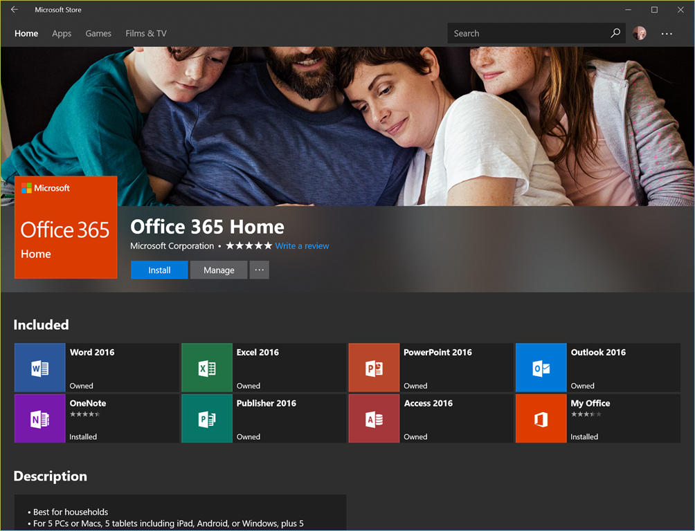 You can now install office 365 desktop apps from the microsoft store the flying maverick - Installer office 365 personnel ...