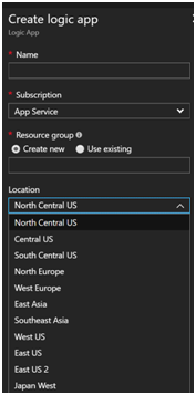 PlanningAzure Services by Location 1