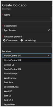 PlanningAzure Services by Location 1